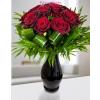 Vörös rózsa körcsokor