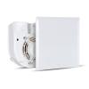 Vortice Vortice Evo QE 60 LL T radiális ventilátor egység, előlappal, állítható időkapcsolóval, előkésleltetéssel, IP45