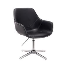 Votana HR876CCROSS Fekete Ekológikus Bőr szék tárgyalószék