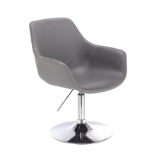 Votana HR876N Szürke Ekológikus Bőr szék tárgyalószék