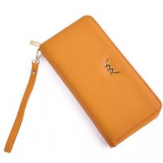 VUCH ANGIE nagy körzippes  pénztárca-sárga P900