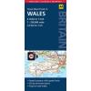 Wales térkép - AA