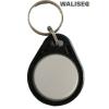 WaliSec RFID beléptető tag, Mifare (13,56MHz), fekete/fehér