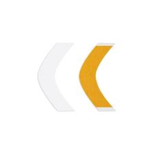 Walker Tape Bumeráng sárga A, kétoldalú paróka ragasztószalag, 36 db ragasztószalag