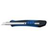 """WEDO Univerzális kés, 9 mm, WEDO \""""Soft-cut\"""", kék/fekete"""