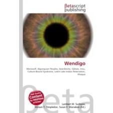 Wendigo idegen nyelvű könyv