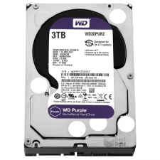 Western Digital Purple 3TB 64MB SATA3 WD30PURZ merevlemez