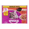 Whiskas 1+ Casserole klasszikus, húsos válogatás 4 x 85 g
