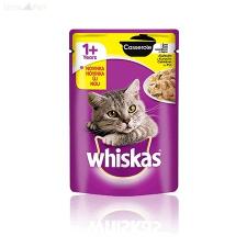 Whiskas alutasakos 85 g Casserole csirkés macskaeledel