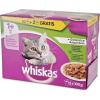 Whiskas húsos vegyes válogatás aszpikban – Alutasakos eledel – Multipack (12 x 100 g) 1.2kg
