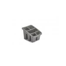 WHITEFURZE Evőeszköz szárító, WHITEFURZE, ezüst tányér és evőeszköz