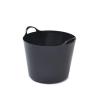 WHITEFURZE Rugalmas vödör, 26 liter, WHITEFURZE, fekete