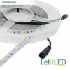 Whitenergy |5m|LED 5050|30db/m|7.2W/m|12V DC|5500-6500K|h.fehér LED szalag