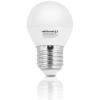 Whitenergy | E27 | 10 SMD3528 | 5W | 230V | meleg fehér | G45 gömb LED izzó