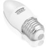 Whitenergy LED izzó   7xSMD2835  C37   E27   3W   230V   melegfehér  tej