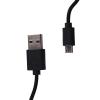 Whitenergy USB 2.0 kábel MICRO, AM / B MICRO transfer/töltőhöz 30cm fekete