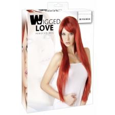 WIGGED LOVE Extra hosszú, vörös paróka egyéb erotikus kiegészítők nőknek