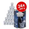 Wild Freedom Adult gazdaságos csomag (24 x 400 g) - Vegyes csomag