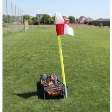WINART Szögletzászló készlet, hüvelyes WINART futball felszerelés
