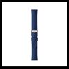 Withings bőr óraszíj - kék/rózsaarany (Steel HR 36mm, Move, Move ECG, Scanwatch 38mm)