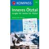 WK 042 - Inneres Ötztal - Gurgler Tal turistatérkép - KOMPASS