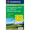 WK 055 - Tschögglberg / Monzoccolo - Salten / Altopiano del Salto turistatérkép - KOMPASS