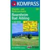 WK 181 - Rosenheim - Bad Aibling turistatérkép - KOMPASS
