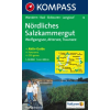 WK 18 - Nördliches Salzkammergut turistatérkép - KOMPASS
