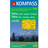 WK 2100 - Hohe Tatra - Vysoke Tatry turistatérkép - KOMPASS