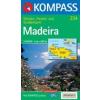 WK 234 - Madeira turistatérkép - KOMPASS