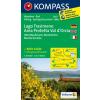 WK 2463 - Lago Trasimeno - Area Protetta Val d'Orcia turistatérkép - KOMPASS