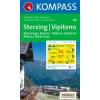 WK 44 - Sterzing / Vipiteno turistatérkép - KOMPASS