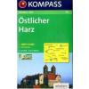WK 453 - Östlicher Harz turistatérkép - KOMPASS