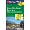 WK 694 - Parco Alto Garda Bresciano turistatérkép - KOMPASS