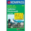 WK 830 - Westerwald, Südlicher turistatérkép - KOMPASS