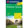 WK 840 - Östlicher Taunus turistatérkép - KOMPASS