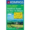 WK 884 - Waldkirch - Kandel - St.Peter - St. Märgen turistatérkép - KOMPASS