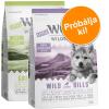Wolf of Wilderness 2x1kg Little Wolf of Wilderness Junior száraz kutyatáp - vegyes próbacsomag (bárány & kacsa)