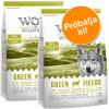 Wolf of Wilderness Próbacsomag: 2 x 1 kg Wolf of Wilderness száraztáp - Wild Hills - kacsa