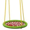 Woody Fészekhinta zöldes piros (83 cm átmérő)