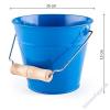 Woodyland Játék fém homokozó vödör - kék