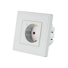 Woox Smart Home Csatlakozó aljzat - R4054 (beltéri, 10A, 2300W, Wi-Fi, távoli elérés) távirányító