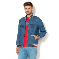 Wrangler , Regular fit farmer bomber dzseki, Kék, XL (W470FD123-XL)