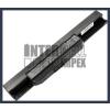 X53XE 4400 mAh 6 cella fekete notebook/laptop akku/akkumulátor utángyártott