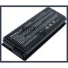 X5R 4400 mAh 6 cella fekete notebook/laptop akku/akkumulátor utángyártott