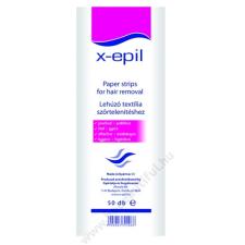X-EPIL Lehúzó textilcsíkok 50db szőrtelenítő készülék