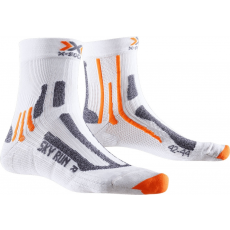 X Socks Sky Run Two White - 45/47