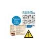 Xerox Etikett, lézernyomtatókhoz, A3, mûanyag, kültéri, XEROX Nevertear, fehér, 50 etikett/csomag