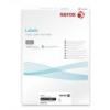 Xerox Etikett, univerzális, 210x297 mm, XEROX, 100 etikett/csomag [100 lap]