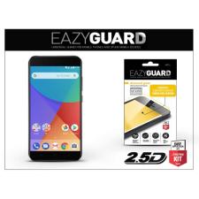 Xiaomi Mi A1 gyémántüveg képernyővédő fólia - Diamond Glass 2.5D Fullcover - fekete mobiltelefon kellék